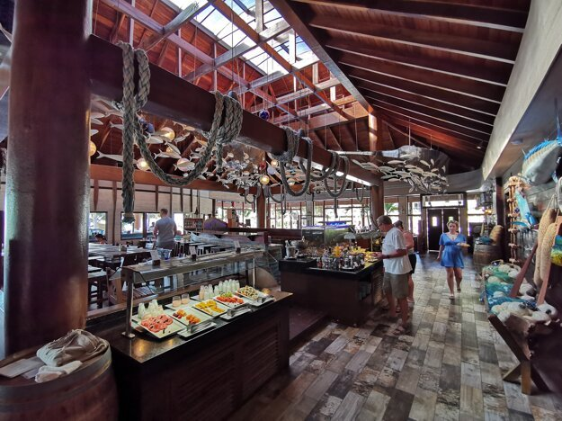 Reštaurácia v hoteli Azul Beach Resort Cancún