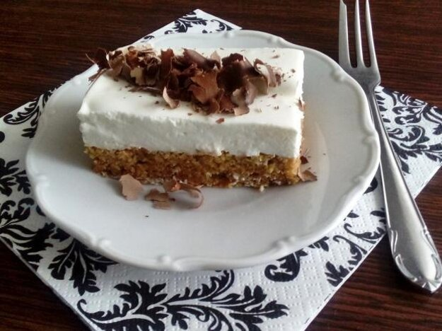 Cuketový koláč bez múky
