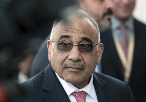 Iracký premiér Ádil Abdal Mahdí.