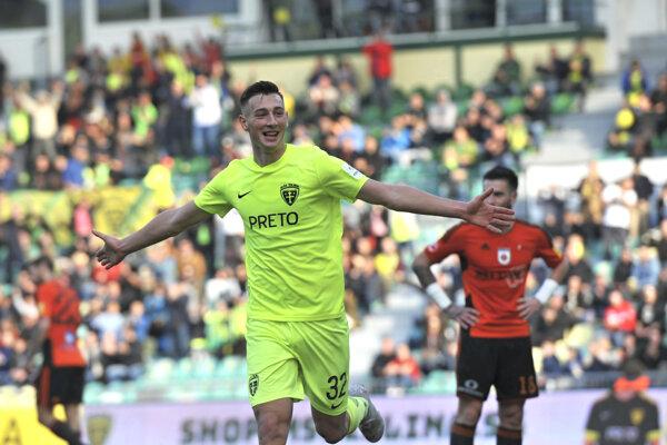 Róbert Boženík sa v Ružomberku trafil prvýkrát v aktuálnej sezóne.