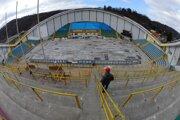 Prešovský zimný štadión.