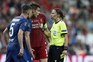 Zápas Superpohára UEFA 2019 medzi FC Liverpool - Chelsea Londýn.