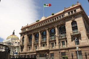 Mexická centrálna banka.