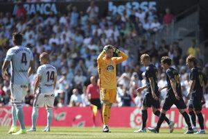 Stanislav Lobotka (druhý zľava) v zápase Celta Vigo - Real Madrid.