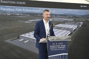 Pavel Sovička, riaditeľ Panattoni Europe ČR a SR.