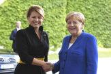 Čaputová sa v Berlíne stretla s nemeckým prezidentom aj Merkelovou