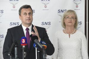 Andrej Danko, Eva Smolíková.