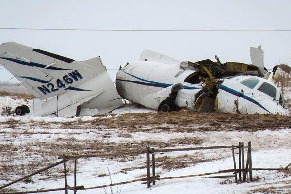 Súkromné lietadlo sa zrútilo na súostroví Magdalen Islands v kanadskej provincii Quebec.