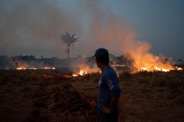 Požiare v amazonskom pralese