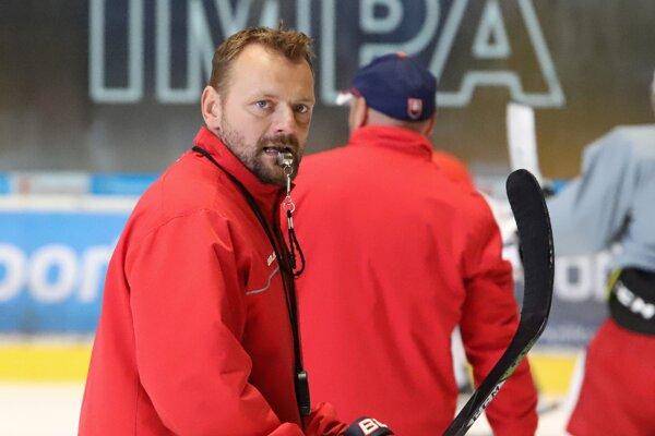 Ambiciózny tréner HKM Zvolen Andrej Podkonický.