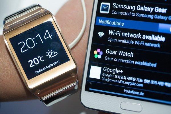 Na fungovanie Galaxy Gear potrebujete smartfón od Samsungu.