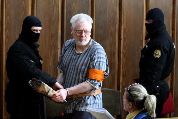 Ako jediný prišiel na vyhlásenie verdiktu Ivan Cuper.