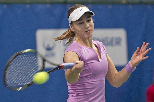 Kristína Schmiedlová bola lepšou hráčkou a zaslúžene ide do ďalšieho kola.