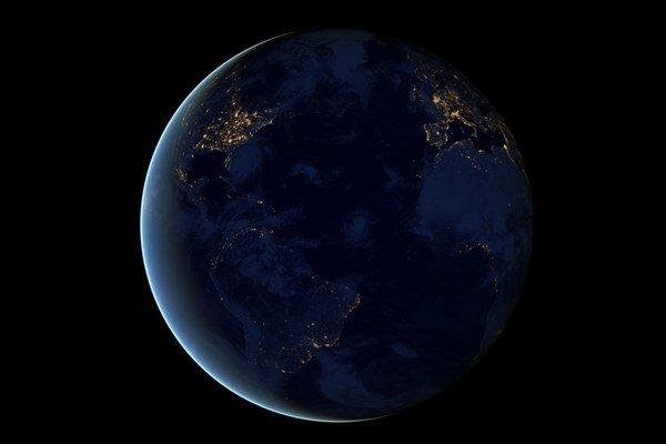 Naša planéta z vesmíru.