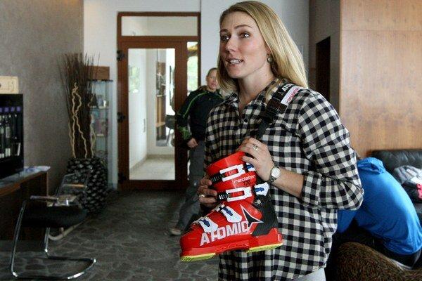 Hviezde svetového ženského lyžovania sa na Slovensku páči.