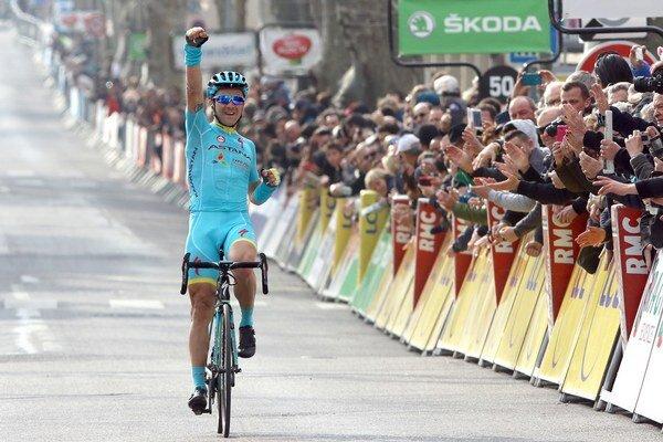 Alexej Lucenko je víťazom pretekov Okolo Ománu. Ilustračná fotografia.