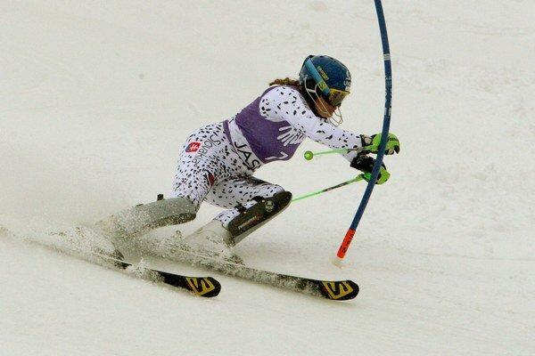 Veronika Velez-Zuzulová môže v St. Moritzi zavŕšiť skvelú sezónu a vybojovať druhé miesto v klasifikácii slalomu.