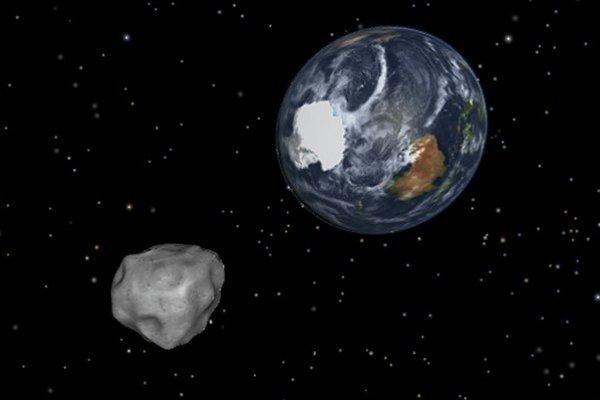 Asteroid 2012 DA 14 dnes v noci minie našu planétu.