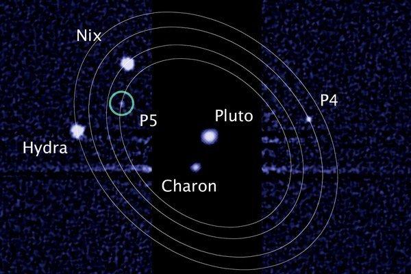 Mesiace P4 a P5 by sa mohli čoskoro premenovať na Vulkán a  Kerberos.