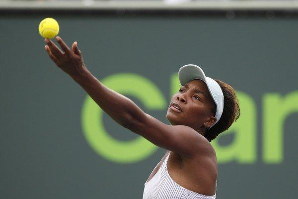 Venus Williamsová nemá v tejto sezóne oslnivú formu.