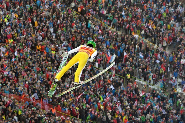 Gangnes môže byť po 10 rokoch ďalším Nórom so zlatom z MS v letoch na lyžiach.