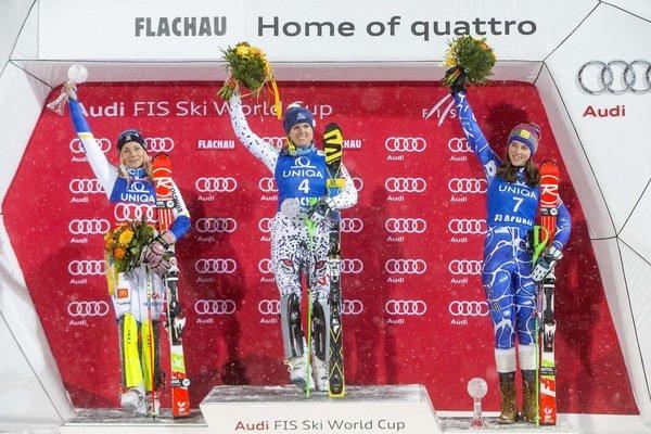 Prvýkrát v histórii skončili na stupňoch víťazov dve Slovenky.