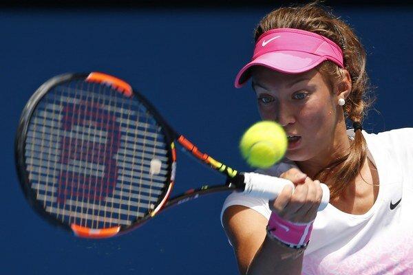 Slovenská juniorská tenistka Tereza Mihalíková.