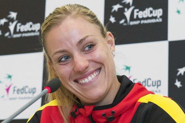 Angelique Kerberová pomôže Nemkám v zápase Pohára federácie.