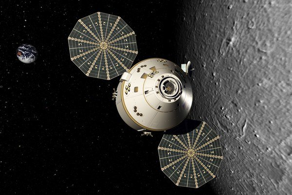 Nová vesmírna loď Orion môže ľudí dopraviť nielen k Mesiacu, ale neskôr aj k astreoidom či k Marsu.