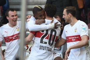 Stuttgart vyhral na domácom ihrisku.
