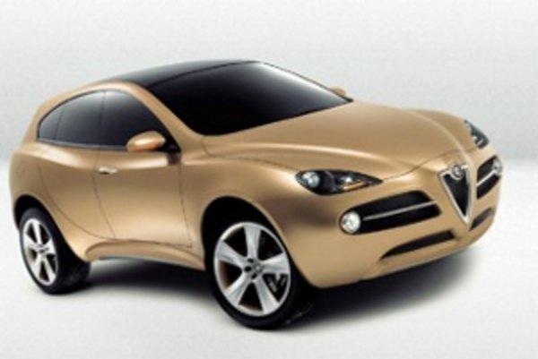 Štúdia SUV Alfa Romeo Kamal z roku 2003.