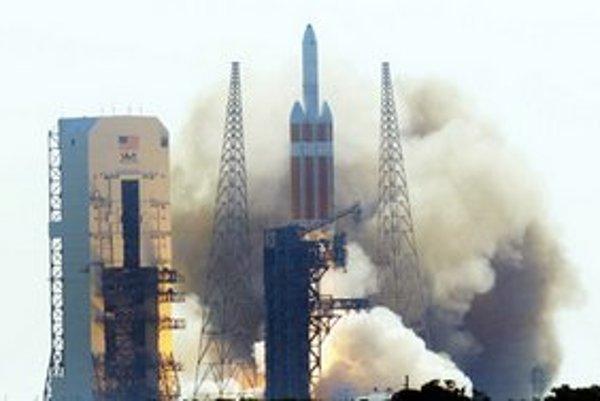 Štart rakety Delta IV.