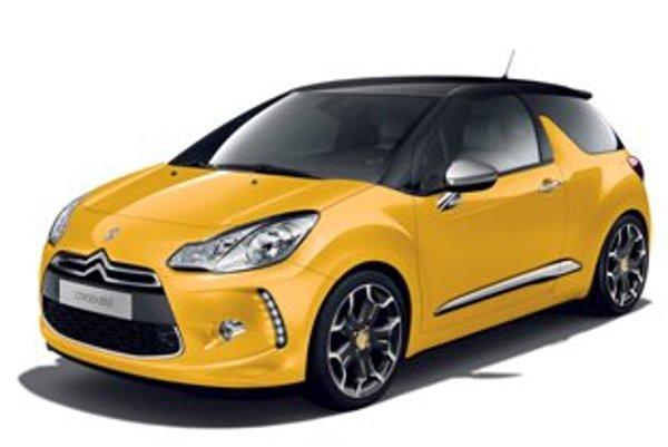Citroën DS3. Podoba verzie Racing zatiaľ nebola odhalená.