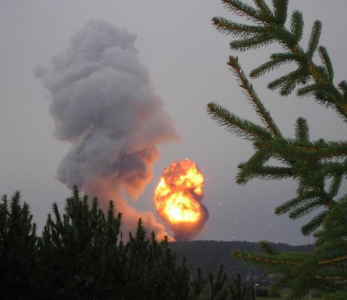 Nováky výbuch