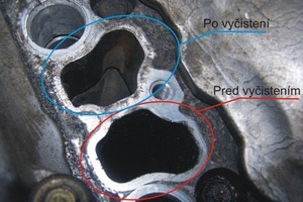 Na nízke oktánové číslo benzínu sú náchylné najmä benzínové motory s priamym vstrekovaním. Už po 80 000 kilometroch môžu mať v sacom potrubí nanesenú hrubú vrstvu agresívneho dechtu.