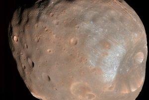 Marsov mesiac Phobos.