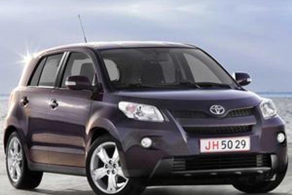Čoraz populárnejšie sú mestské crossovery, ktoré vznikli pospájaním prvkov viacerých tried. Najnovším prírastkom je Toyota Urban Cruiser.