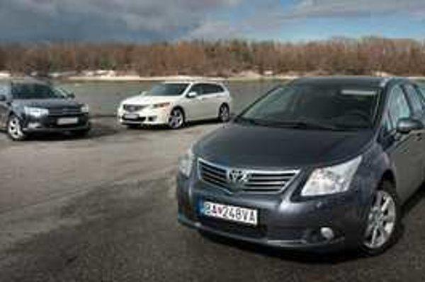 Každé z troch áut má vlastný štýl. Citroen a Honda pútajú uceleným dizajnom. Toyota vynikne nízkym aerodynamickým hlukom.