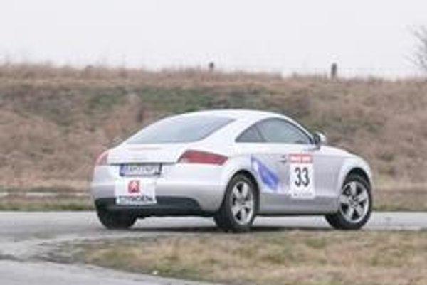 Posádka SME jazdila na Audi TT