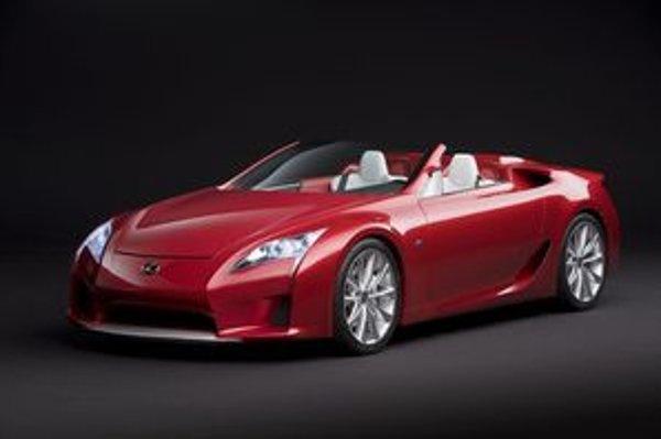 Lexus LF-A má podobne ako BMW M6 päťlitrový motor až za prednou nápravou a výkon vyše päťsto koní.