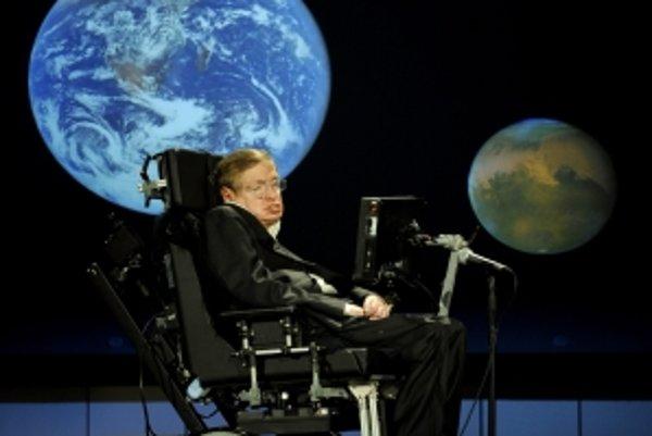 Britský fyzik Stephen Hawking.