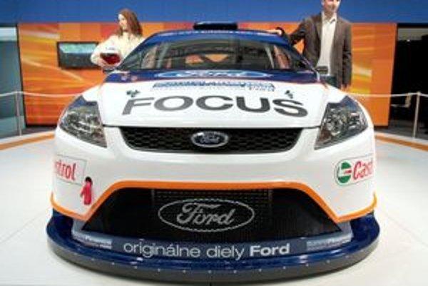 Pretekársky Ford Focus je jedným z najvzácnejších exponátov autosalónu, pretože ide o jedinečný kus svojho druhu v Európe. Vozidlo postavili v dielňach Auto Koiš v Bánovciach nad Bebravou.