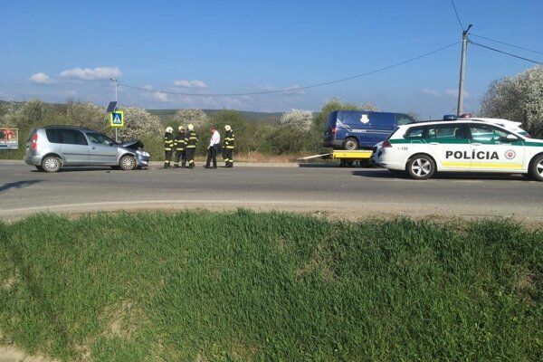 Nehody sú na predmetnej križovatke pravidelne.