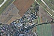 Lokalita, v ktorej sa nachádzajú pozemky spoločnosti Stražan.