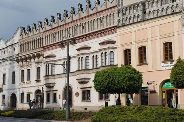 Rákociho palác v Prešove.
