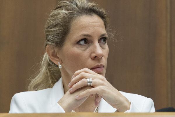 Predsedníčka hospodárskeho výboru Jana Kiššová.