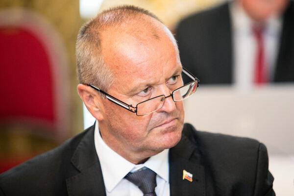 Minister obrany SR Peter Gajdoš.