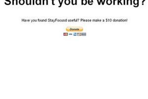 Odpojenie od internetu len za 10 dolárov - StayFocusd.