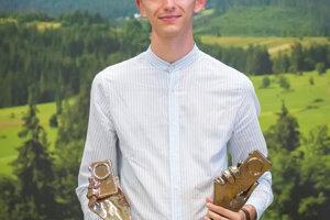 Jozef Kovalík hneď s dvoma oceneniami.
