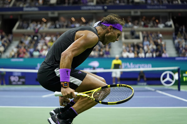 Rafael Nadal na US Open 2019.